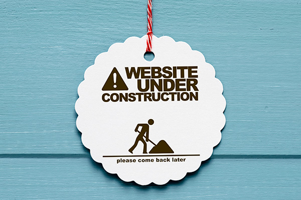 Website maintenance and webmaster services.