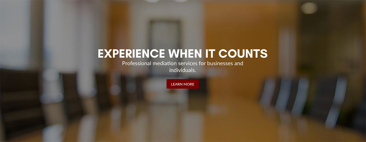 mediator website banner