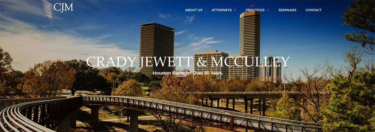 houston website banner, houston website design